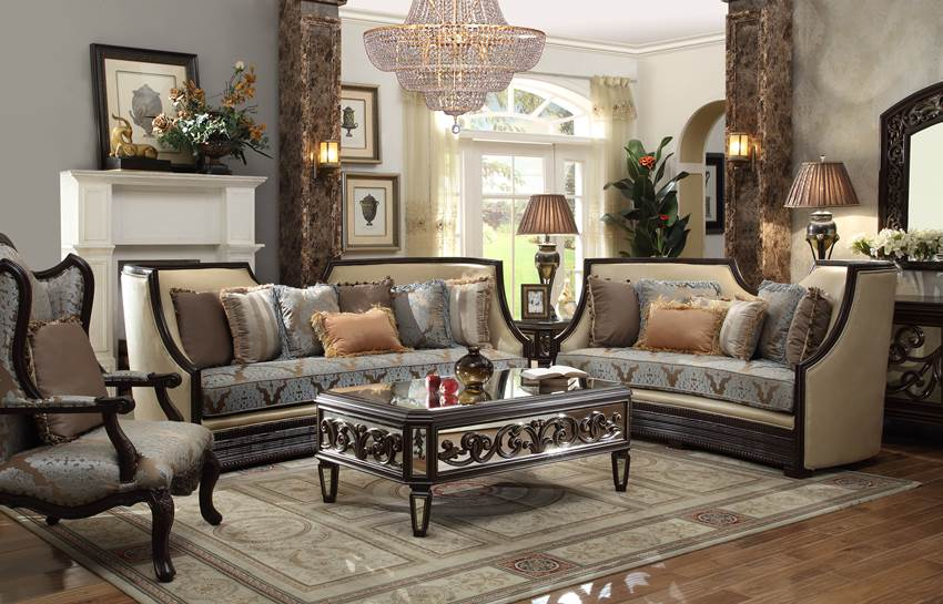 unique high end formal living room set von furniture on sale
