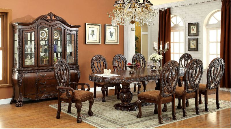 Harper Formal Dining Room Set in Cherry