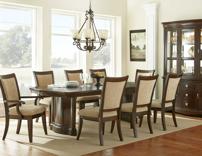 sharon formal dining room set the sharon formal dining room set offers ...