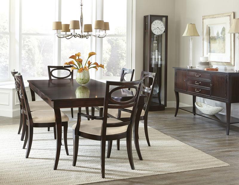 von furniture central park formal dining room set