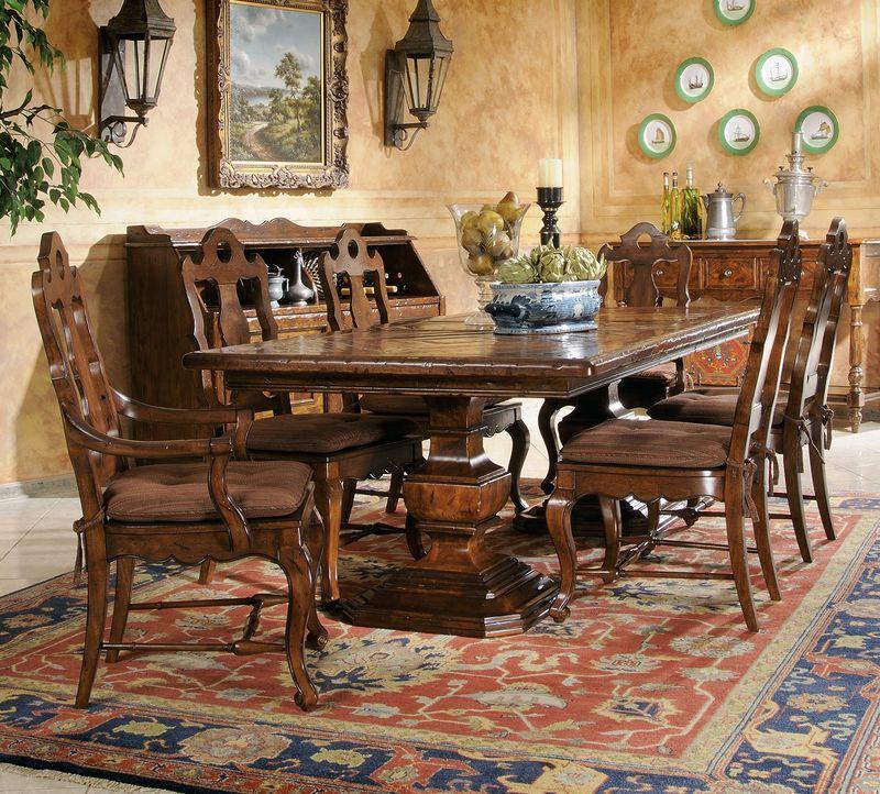 von furniture rue de bac formal dining room set