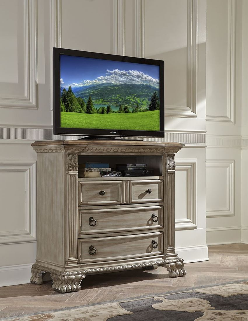 Buy Bedroom Media Chest. Russian Hill Tv Chest Warm Cherry. Chest ...