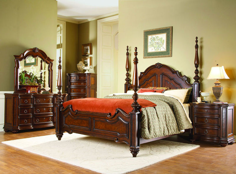 Prenzo Bedroom Set With Poster Bed
