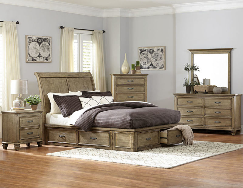 Sylvania Bedroom Set with Storage Bed