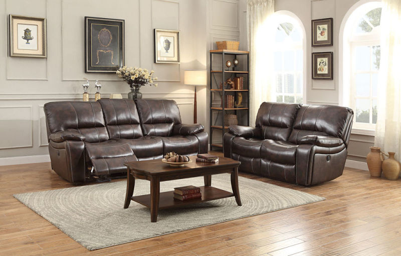 Von Furniture Timkin Reclining Living Room Set With Power Motion
