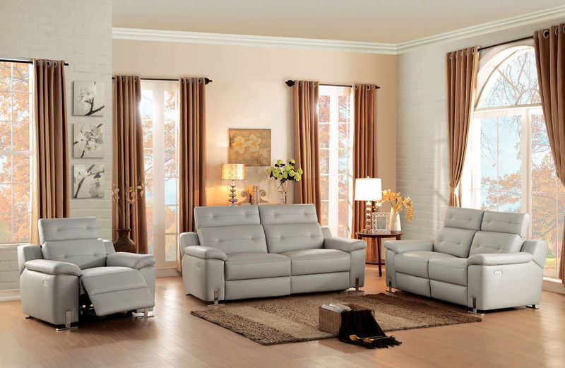Vortex Reclining Leather Living Room Set
