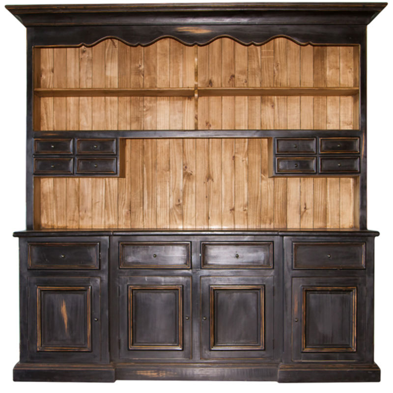 China Cabinet Rustic Home Decor