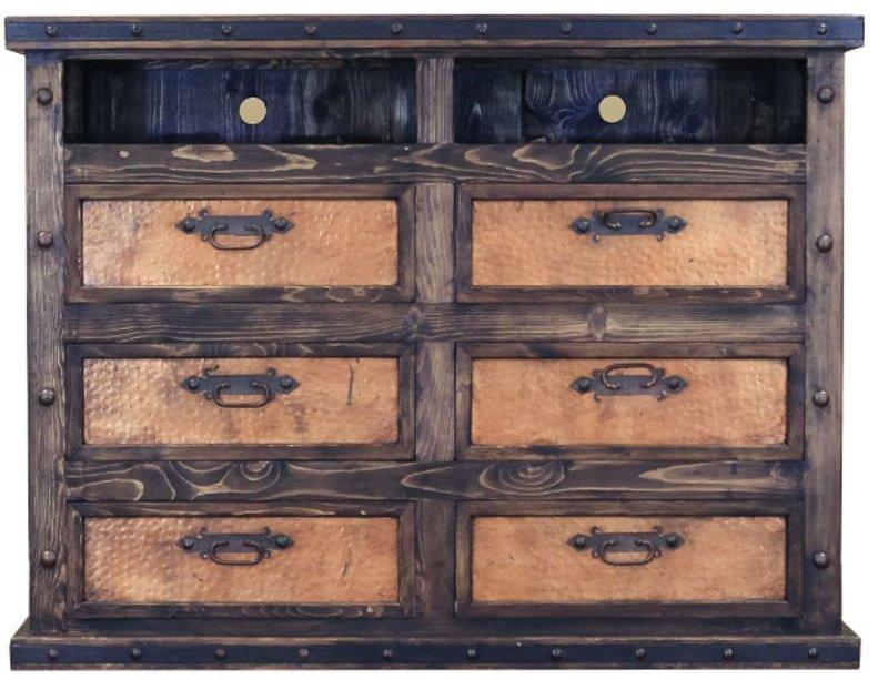 Finca Copper Rustic Bedroom Set