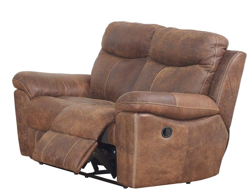 3 Piece Top Grain Buffalo Reclining Sofa Set | Authentic Rustic ...