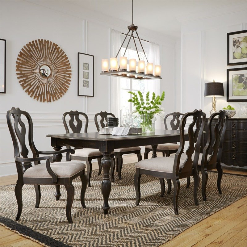 Chesapeake 7 Piece Formal Dining Room Set