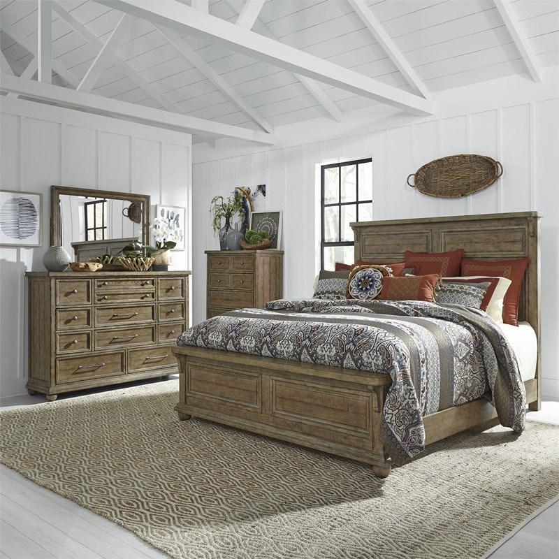Harvest Home 4 Piece Queen Bedroom Set