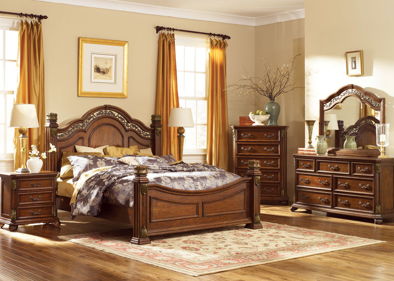 Messina Estates 4 Piece Queen Bedroom Set