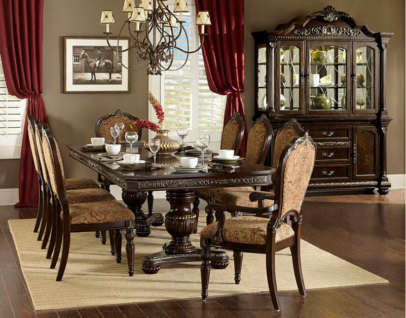 643653 Liverpool Formal Dining Room Set | Von Furniture | Free shipping
