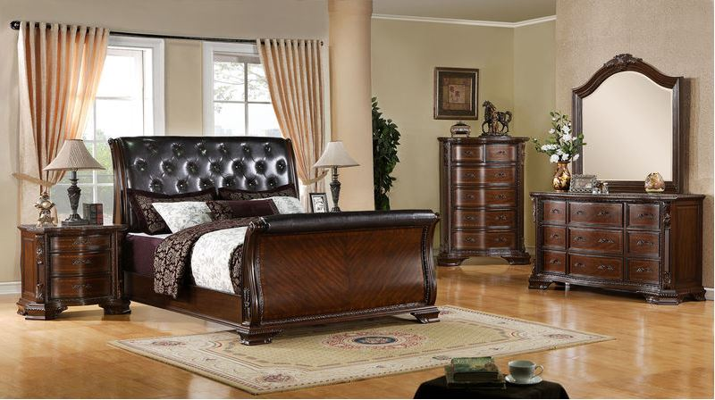 Londonberrry Bedroom Set with Sleigh Bed