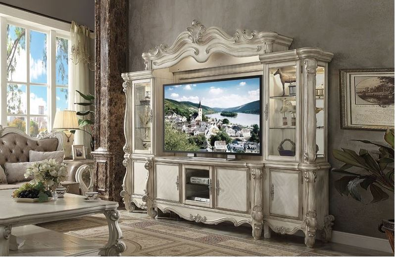 Lucca Entertainment Center in White