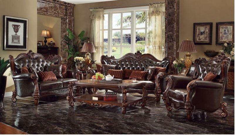 400921 Lucca Formal Living Room Set In