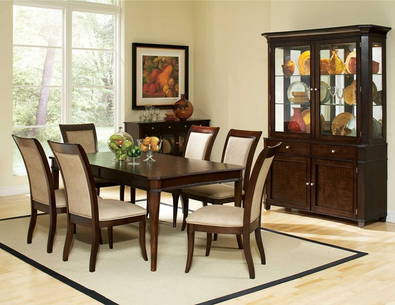 spring hill formal dining room set the spring hill dining room set is