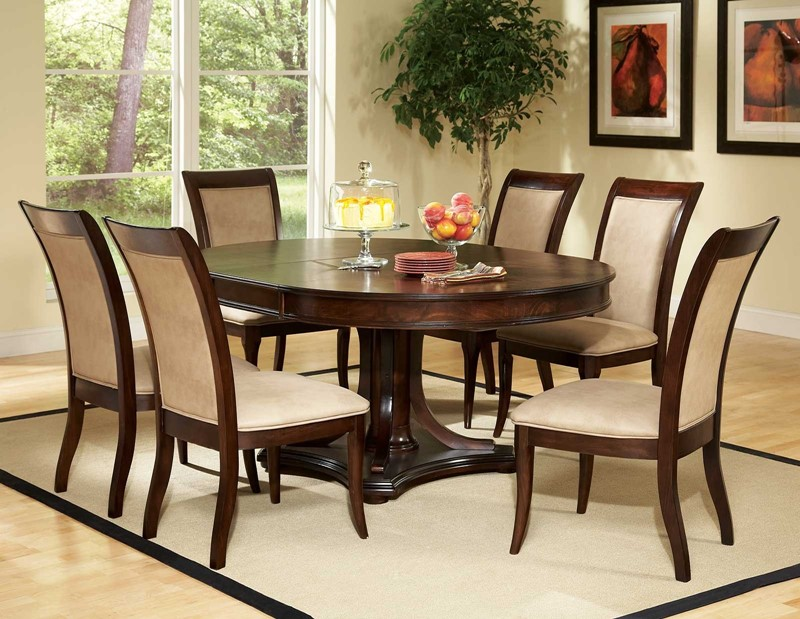 hill round to oval dining room set the spring hill dining room set