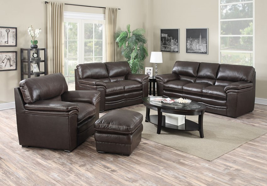 mitchell leather living room set the mitchell leather sofa set is a