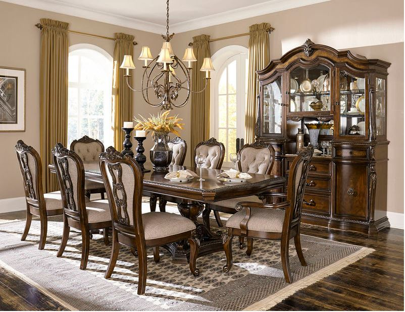 Naples Formal Dining Room Set