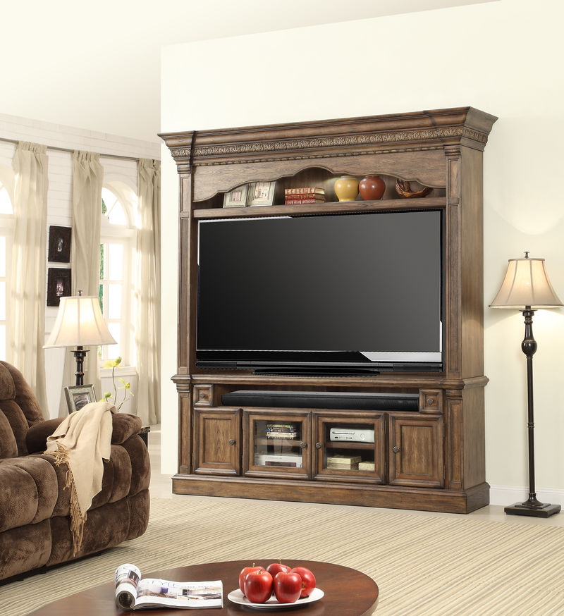Aria Entertainment Center with 79 Inch Console