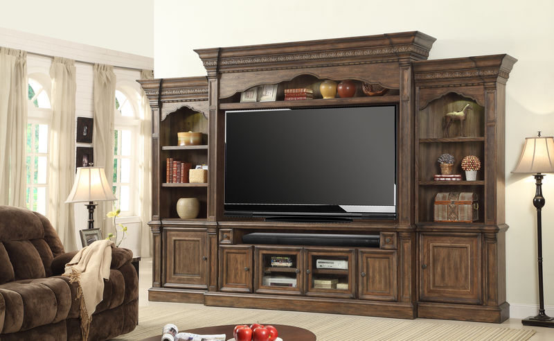 Aria Large Entertainment Center with 79 Inch Console