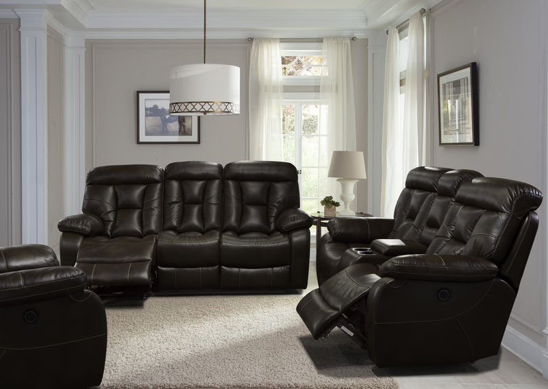 Berlin Reclining Living Room Set with Power Motion