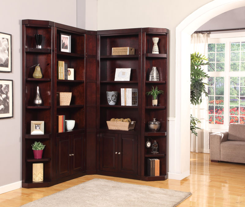 Boston Corner Bookcase