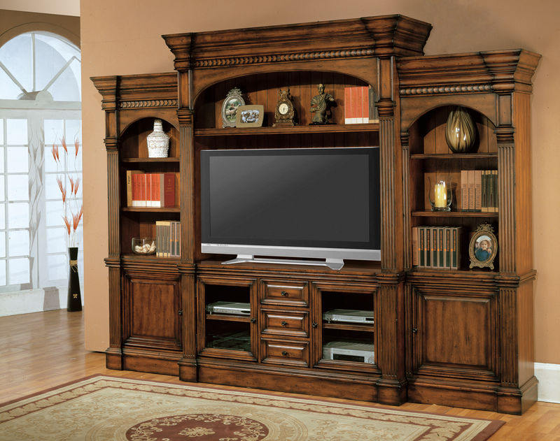 Genoa Entertainment Center with 64 Inch Console