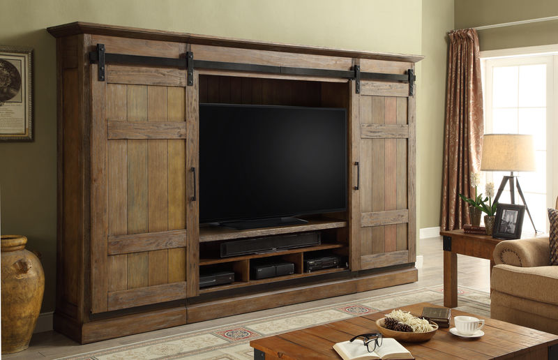 Hunts Point Sliding Door Entertainment Wall