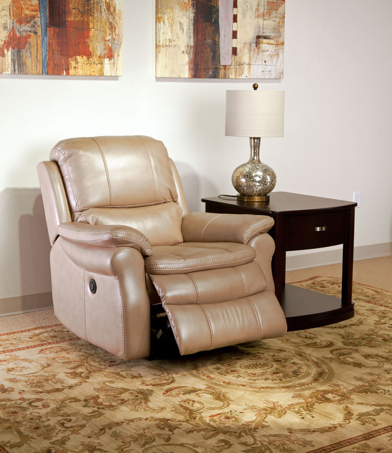 Juno Reclining Living Room Set in Sand