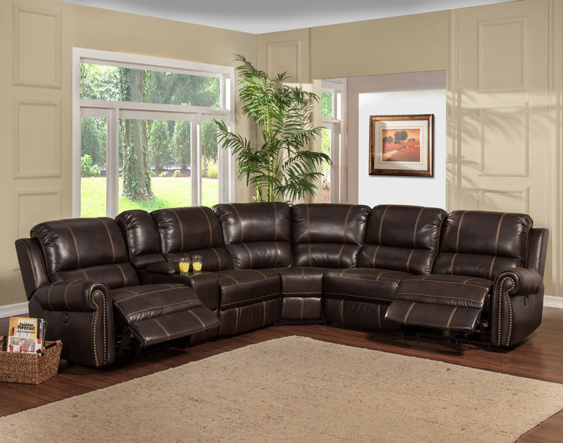 Webber Reclining Sectional