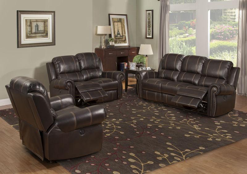 Webber Reclining Living Room Set