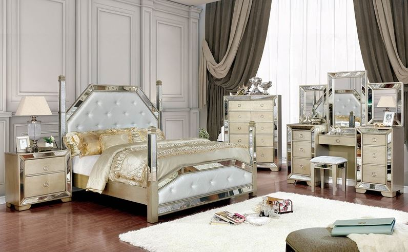Rimini Bedroom Set with Post Bed