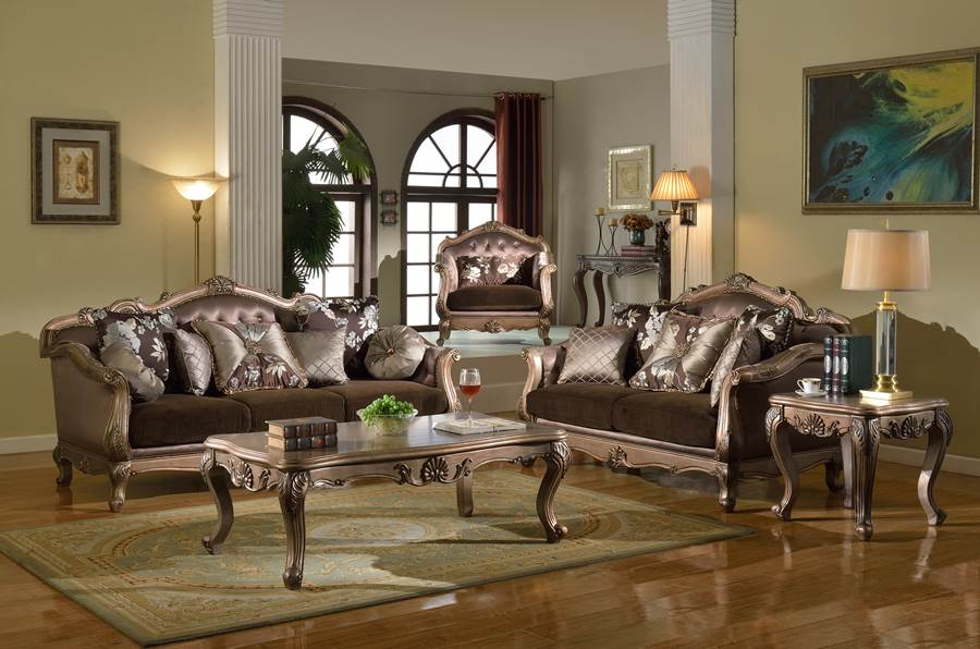 bronze formal living room set the bronze formal living room set has a