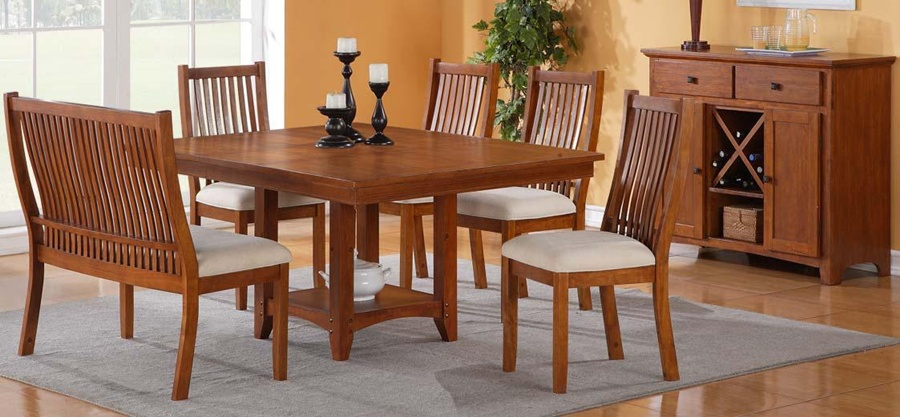 Impressive Tulsa Mission Style Dining Room Set The Tulsa Dining Room Set Is  The 900 X