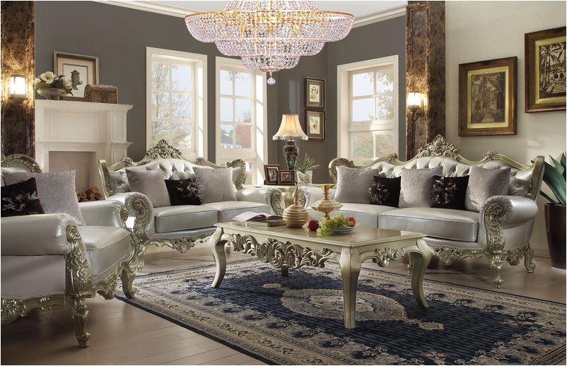 607100 Varese Formal Living Room Set | Von Furniture | Free Shipping