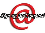 Sign Up for Coupons