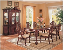 Cary Formal Cherry Dining Room Set