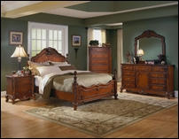 Baton Rouge Cherry Bedroom Set