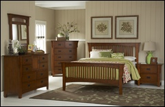 Easton Mission Style Bedroom Set