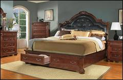 Highland Bedroom Set with Storage Bed