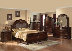 Abadan Cherry Bedroom Set