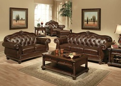 Abadan Formal Leather Living Room Set