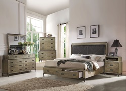 Athouman Bedroom Set with Storage Bed