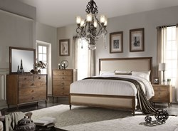 Inverness Bedroom Set with Low Profile Footboard
