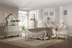 Ragenardus Bedroom Set in Antique White