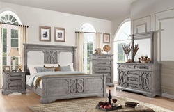 Artesia Bedroom Set with Upholstered Headboard