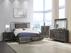 Sawyer Bedroom Set with Storage Bed