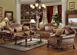 Dresden Formal Living Room Set in Cherry